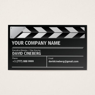 Film Director / Executive Producer Business Card