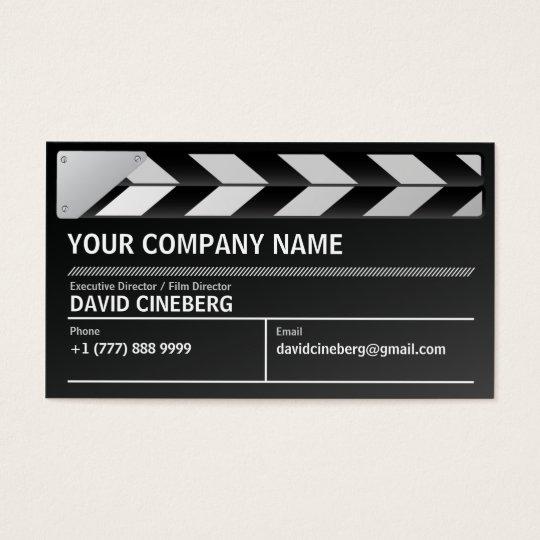 Film Director Executive Producer Business Card Zazzle Com