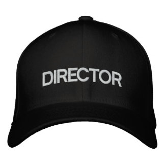 FILM DIRECTOR HAT EMBROIDERED BASEBALL CAP