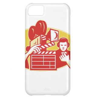 Film Director Movie Camera Clapper Soundman iPhone 5C Case