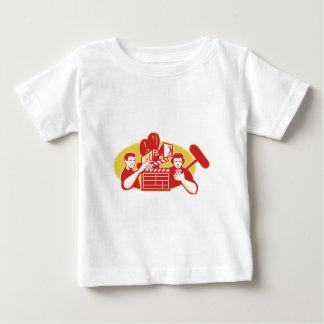 Film Director Movie Camera Clapper Soundman Shirt
