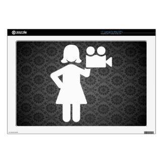 """Film Directors Pictogram Skins For 17"""" Laptops"""