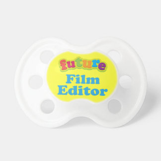 Film Editor (Future) Pacifier Infant Gift BooginHead Pacifier
