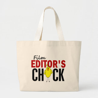 Film Editor's Chick Large Tote Bag