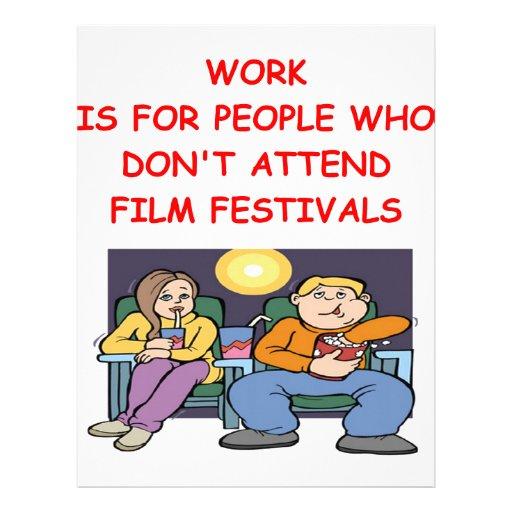film festival personalized letterhead