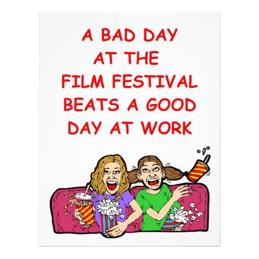 film festival letterhead