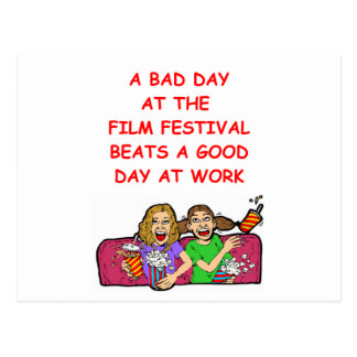 film festival post card