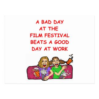 film festival postcard