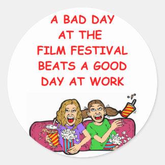 film festival stickers