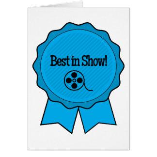 Film Festival Winner Best in Show Greeting Card