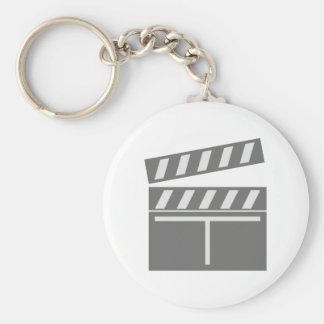 Film flap folds clapperboard keychain
