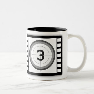 FILM FRAME COUNTDOWN Frosted Glass Mug