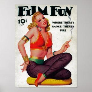 Film Fun Magazine Cover 11 Poster