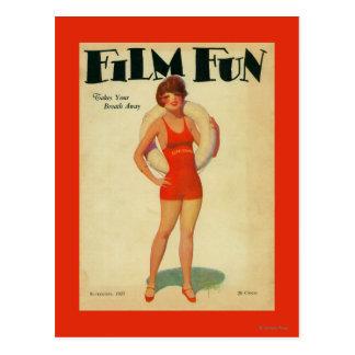 Film Fun Magazine Cover 2 Postcard