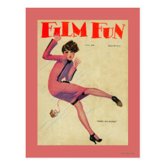 Film Fun Magazine Cover Postcard