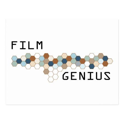 Film Genius Postcard