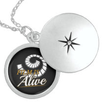 Film is Alive 2019 Photography Gift Photographer Locket Necklace