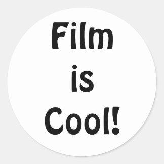 Film is Cool! Round version Classic Round Sticker