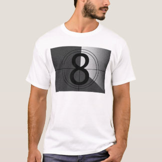 Film Leader - Black And White T-Shirt