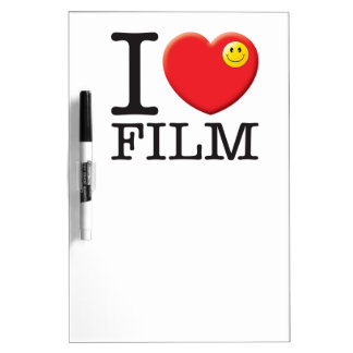 Film Love Dry Erase Whiteboards