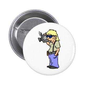 Film Maker Pinback Button