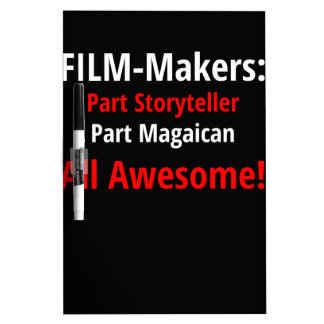 Film-Makers T-Shirt Dry Erase Board