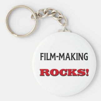 Film-Making Rocks Keychain
