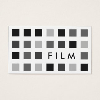 FILM (mod squares) Business Card
