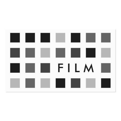 FILM (mod squares) Business Cards