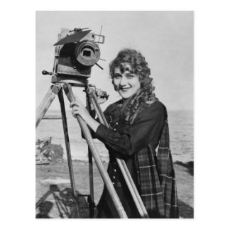 Film Motion Picture Star, Mary Pickford Vintage Postcard