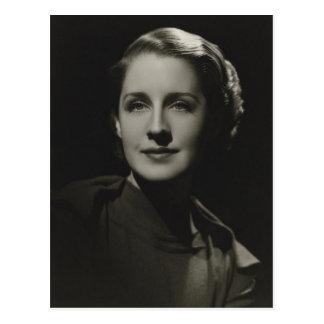 Film Motion Picture Star, Norma Shearer Vintage Postcard