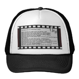 film motto movie reel script actor crew trucker hat