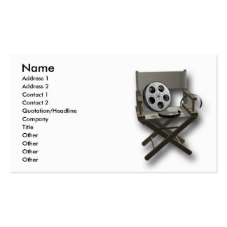 Film Movie Double-Sided Standard Business Cards (Pack Of 100)