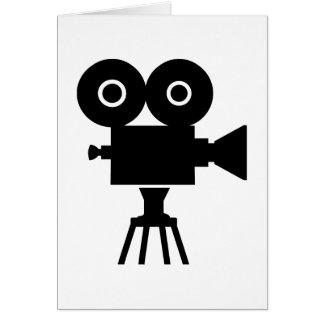 Film movie camera cards