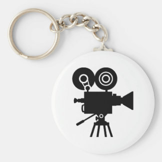 Film movie camera keychain