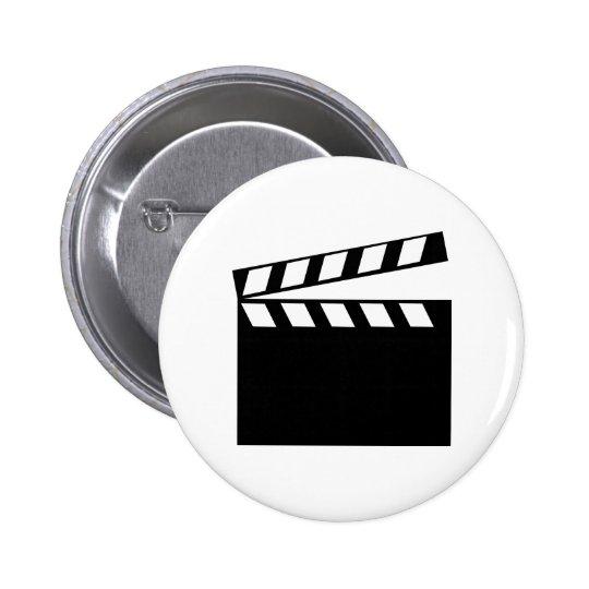 Film Movie Clapper Button