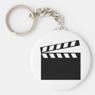Film Movie Clapper Keychains