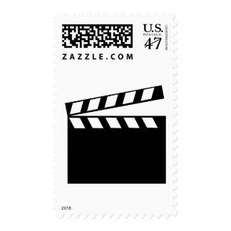 Film Movie Clapper Postage