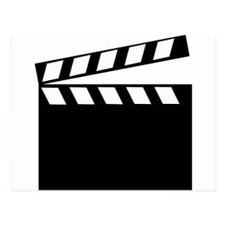 Film Movie Clapper Postcard