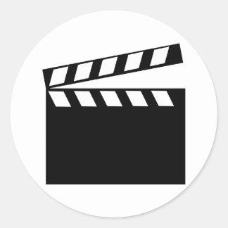 Film Movie Clapper Stickers