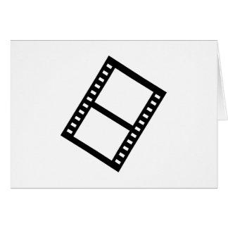 Film movie reel greeting card