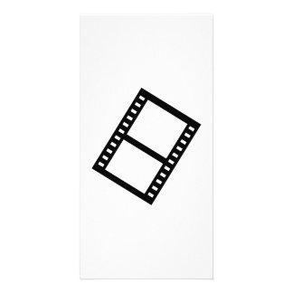 Film movie reel photo card template