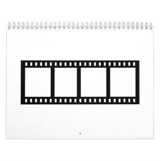 Film movie reel calendar