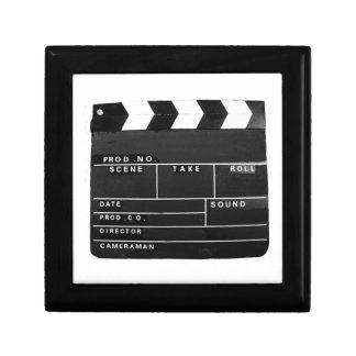 Film Movie Video production Clapper board Jewelry Box
