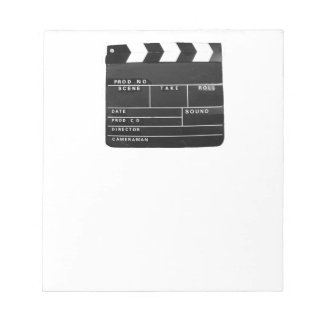 Film Movie Video production Clapper board Notepad