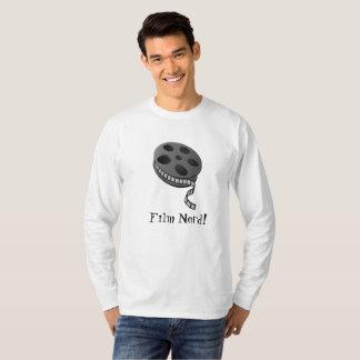 Film Nerd Custom Long-Sleeve T-Shirt
