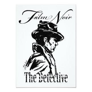 Film Noir Detective Card