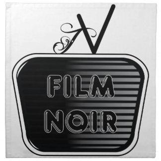 Film Noir Napkin