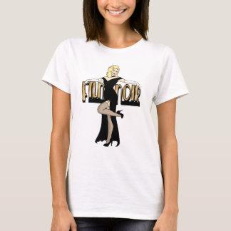 Film Noir Silver Screen Pinup T-Shirt