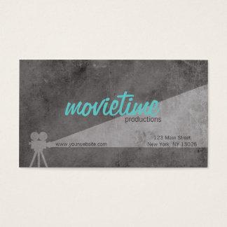 Film Production Company Tarjetas De Visita